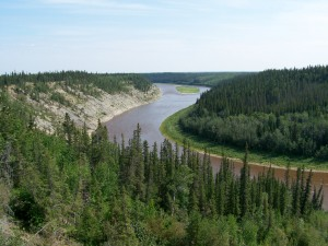 Hay River valley
