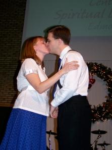 The kiss! Woo hoo!