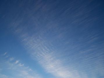 Cirrus sky