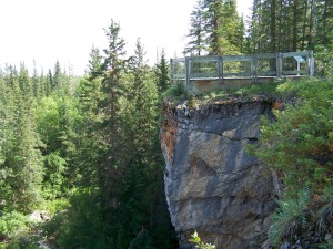McNallie Falls lookout spot