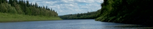 Peace River channel banner