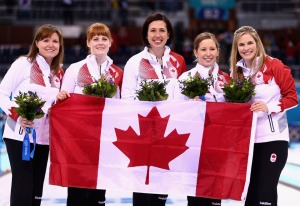 The undefeated Canadian Women's Curling team! Masters of their mental state.