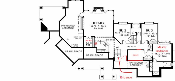big house floorplan-lower floor