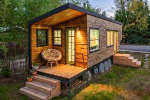 Macy's tiny house