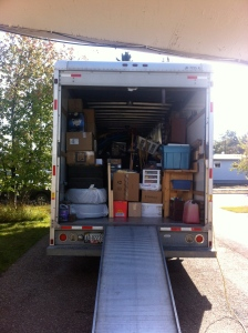 uhaul nearly full