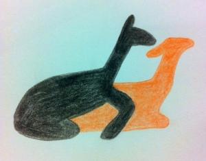 alpaca cave art