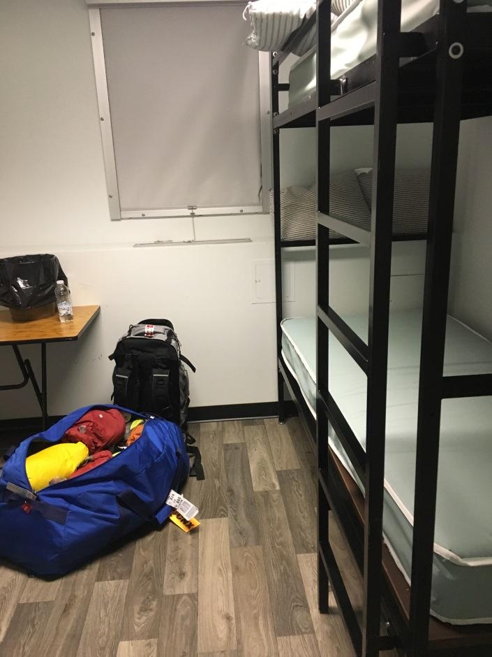 Iqaluit - room in the PAB