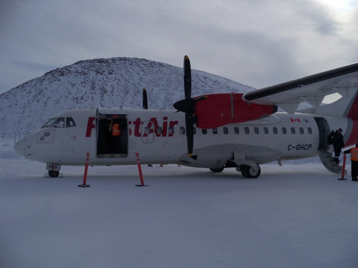 Qik - First Air ATR43 acft
